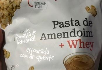 Pipoca de Pasta de Amendoim + Whey Senhora Pipoca