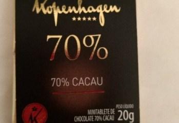 Chocolate Amargo 70% Cacau Kopenhagen