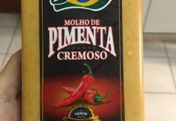 Molho de Pimenta Cremoso Brasileiríssimo