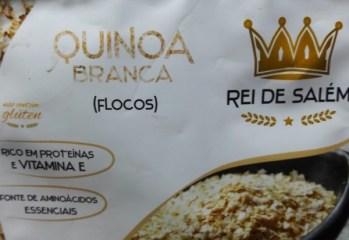 Quinoa Branca em Flocos Rei de Salém