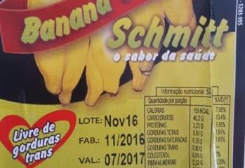 Banana Passa Schmitt