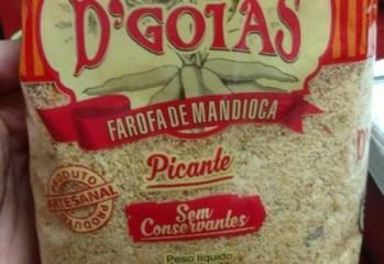 Farofa de Mandioca Picante Típica D'Goiás