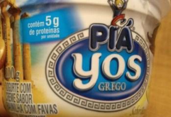 Iogurte Grego Sabor Baunilha com Favas Yos Piá