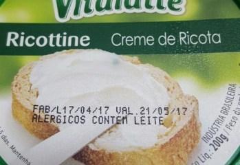 Creme de Ricota Ricottine Vitalatte