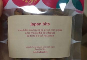 Salgadinho Torrado de Arroz Com Algas Japan Bits Best Berry
