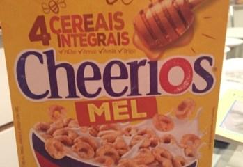 Cereal Cheerios Mel Nestle