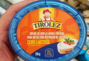 Creme de Queijo Minas Frescal Zero Lactose Tirolez