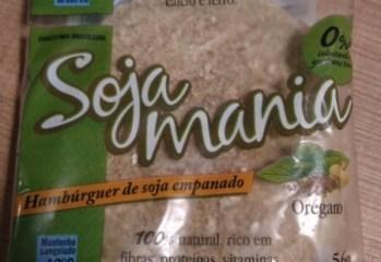 Hambúrguer de Soja Empanado Orégano Soja Mania
