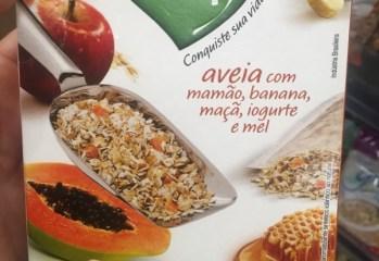 Cereal Matinal Integral de Aveia com Mamão, Banana, Maçã, Iogurte e Mel Taeq