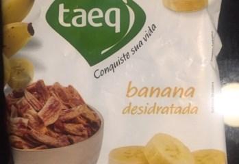 Banana Desidratada Taeq