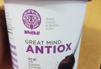 Sorbet Açaí Great Mind Antiox Whaká