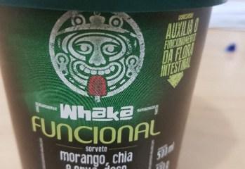 Sorvete Funcional Morango, Chia e Erva-doce Whaka