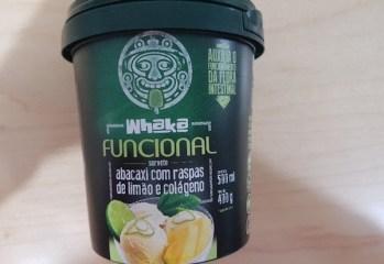 Sorvete Funcional Abacaxi com Raspas de Limão e Colágeno Whaka