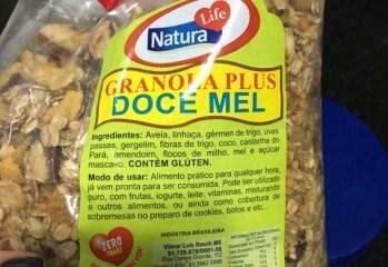 Granola Plus Doce Mel Natura Life