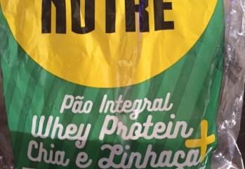 Pão Integral Whey Protein + Chia e Linhaça Pure Nutre