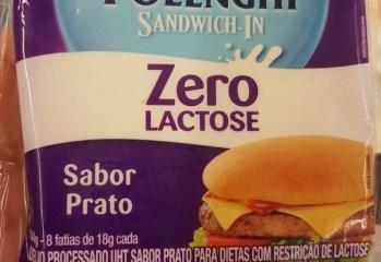 Queijo Processado UHT Sabor Prato Zero Lactose Polenghi
