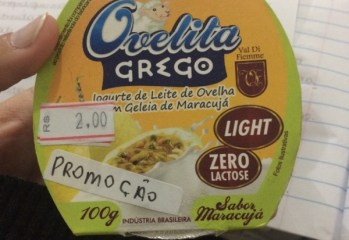 Iogurte Grego de Leite de Ovelha Sabor Maracuja Ovelita