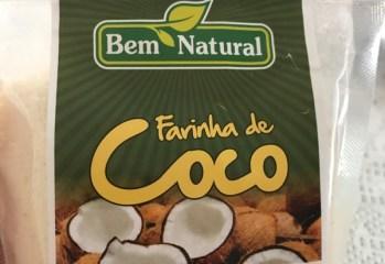 Farinha de Coco Bem Natural