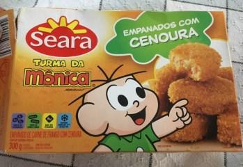 Empanados com Cenoura Turma da Monica Seara