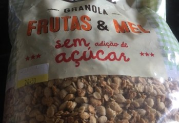 Granola Frutas & Mel Mãe Terra