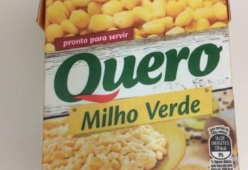 Milho Verde em Conserva Quero