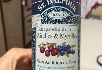 Geleia de Cranberry com Mirtilos St. Dalfour frente
