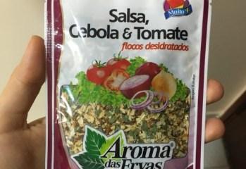 Salsa Cebola e Tomate Flocos Desidratados Aroma das Ervas