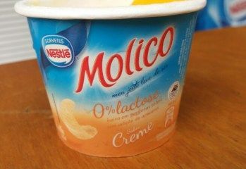 Sorvete Sabor Creme 0 Lactose Molico Nestlé