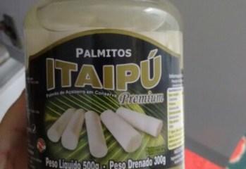 Palmito de Açaizeiro em Conserva Itaipú