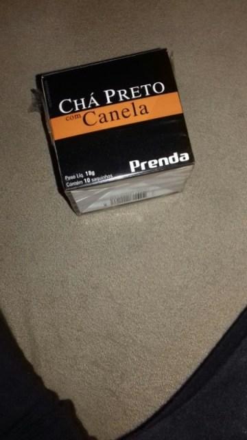 Chá Preto com Canela Prenda