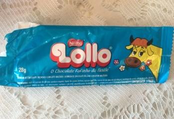 Bombom de Chocolate Recheado com Leite Maltado Lollo Nestle