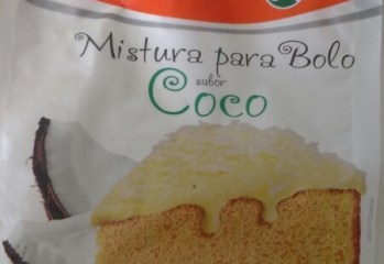 Mistura para Bolo sabor Coco Natural Life Kodilar