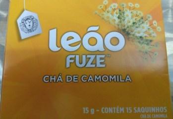 Chá de Camomila Leão Fuze