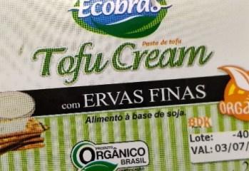 Pasta de Tofu com Ervas Finas Orgânico Tofu Cream Ecobras