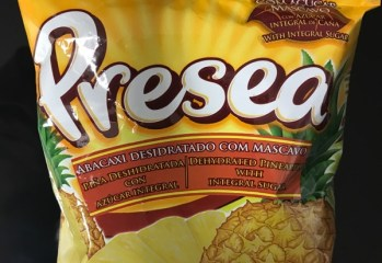 Abacaxi Desidratado com Mascavo Presea
