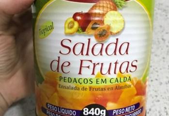 Salada de Frutas em Calda Simons
