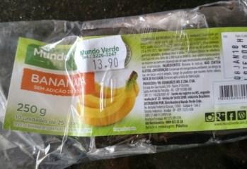 Bananada Sem Adição de Açúcar Mundo Verde
