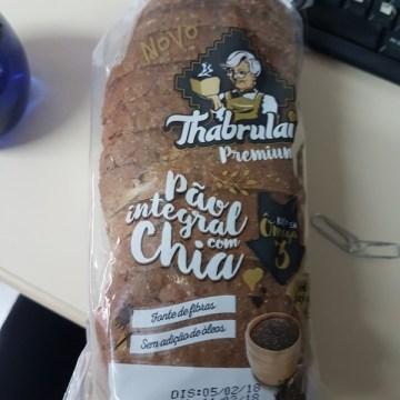 Pão Integral com Chia Thabrulai