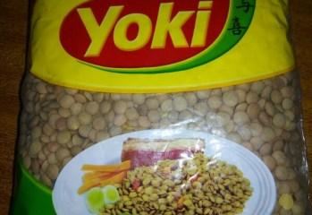 Lentilha Yoki