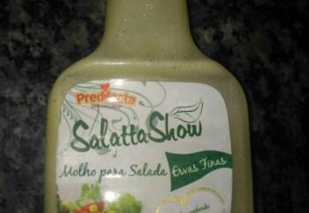 Molho para Salada Ervas Finas Salatta Show Predilecta