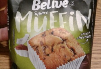 Square Muffin Coco + Chocolate Belive