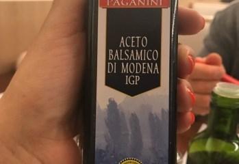 Aceto Balsamico Di Modena IGP Paganini