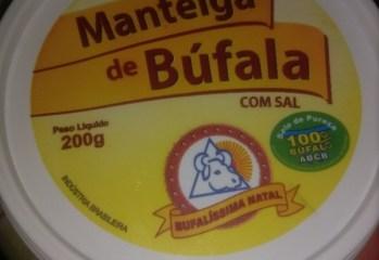 Manteiga de Búfala Com Sal Bufalíssima Natal