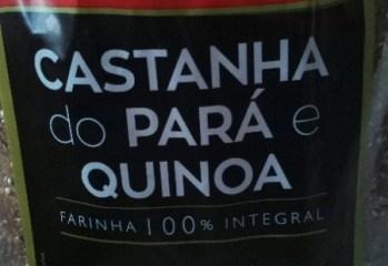 Pao Integral Castanha do Para e Quinoa Delicias do Trigo