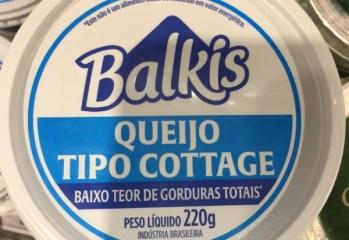 Queijo Tipo Cottage Balkis