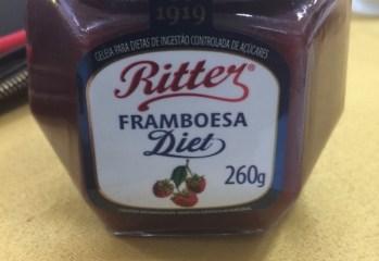 Geleia de Framboesa Diet Ritter