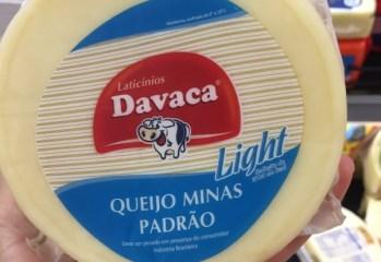 Queijo Minas Padrão Light Laticínios Davaca