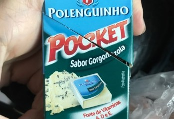 Queijo Processado UHT Sabor Gorgnozola Polenguinho Pocket Polenghi