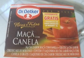 Chá Misto Maçã com Canela Dr. Oetker