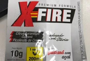 X Fire Sabor Guaraná com Açaí Nutrata